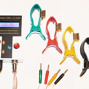 Dispositivo Electroterapia Frecuencias Clark