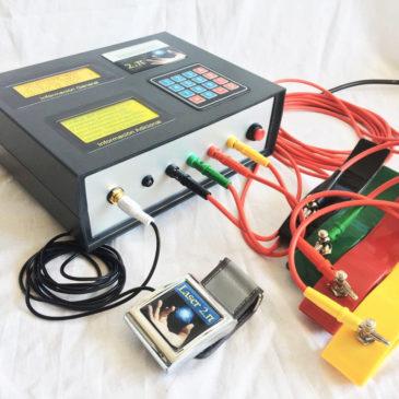 Dispositivo de Electroterapia 2.π modelo CONTACT